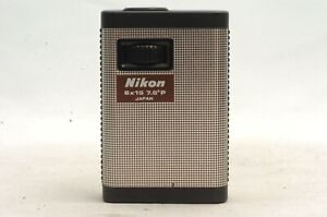 @ Ship in 24 Hours @ Rare! @ Vintage Nikon 6x15 7.5 Degrees P Compact Monocular