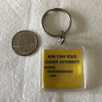 No DWI New York State Liquor Authority Keychain Key Ring #37688