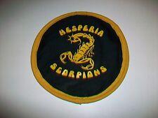 Hesperia Scorpions High School cloth fabric floppy flying disc