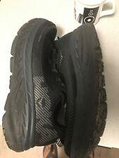 hoka bondi size 11 black running shoes