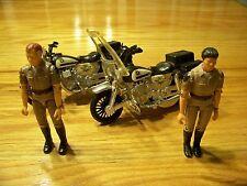 VINTAGE 1980 MEGO CHIPS MOTORCYCLES W PONCH & JON MGM C.H.I.P.S.
