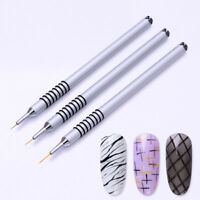 Nail Art UV Gel Liner Drawing Brush Flower Painting Acrylic Pen Manicure Tool