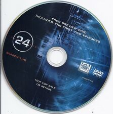 24: Season 2 (first 2 episode only DVD, Twenty Four TV series)