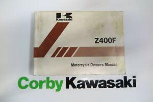 KAWASAKI Z400 ZR400 BELT DRIVE OWNERS MANUAL
