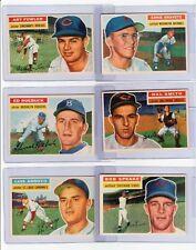 (24)  1956 TOPPS BASEBALL NM or BETTER DIFFERENT CARDS #47 - #338 STARTER SET