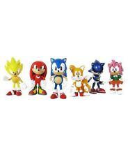 """Sonic Multi Pack 2"""" Figura de Acción 6 figuras-nudillos, Sonic Classic"""