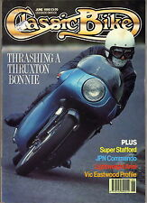 CLASSIC BIKE, June 1990 – JPN Commando, NHT Special, Eastwood, Thruxton Bonnie…
