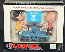 Snoopy Charlie Brown & Lucy Lionel Trains Motorized Handcar