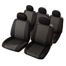 Housse de siège auto spéciale MONOSPACE 5 sièges HAUTE QUALITE MAILLE JACQUARD