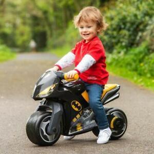 Childrens Kids Boys Balance Bike Ride On BATMAN Ride-On Step Push Along Toddler