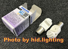 2x PHILIPS RED LED Vision BRAKE LIGHT P21W 1156 BA15S 12839 Single Brightness
