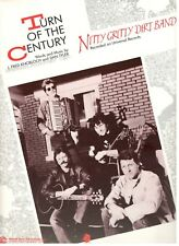"NITTY GRITTY DIRT BAND ""TURN OF THE CENTURY"" SHEET MUSIC-PIANO/VOCAL/GUITAR-NEW!"