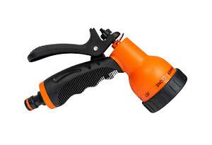 8 pattern universal,hozelock compatible garden hose spray gun