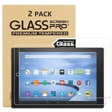More details for tempered glass for amazon fire hd 7 8 10 2020, 2019 9h hd screen protector cover