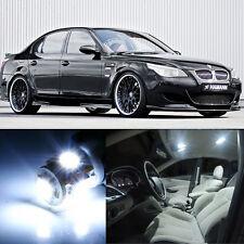 18×White LED Interior SMD Light Kit Error Free for BMW 5 Series E60 M5 2004-2011