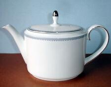Vera Wang Wedgwood Grosgrain Indigo Large Teapot New