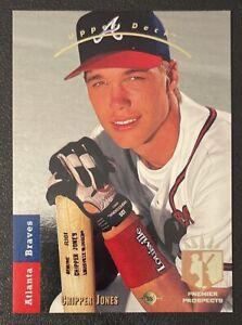 1993 UPPER DECK SP Foil #280 Chipper Jones Rookie RC Premier Prospects Braves