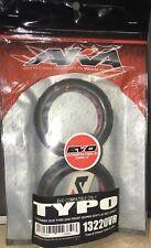 "NEW AKA   ""EVO TYPO"" 1/10 FRONT Buggy Tires (2) (Super-Soft) SEALED  13220VR"