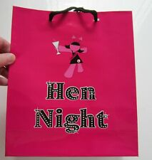 3 x Hen Party Goodie Bags | Hen Night Treats | Pink Shiny Goody Bags