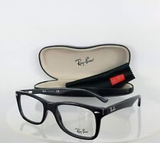 Brand New Authentic Ray Ban RB 5228 Eyeglasses RB5228 2000 Shiny Black Frame