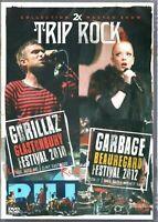 2X Trip Rock DVD Gorillaz Glastonbury 2010 & Garbage Beauregard 2012 Brand New