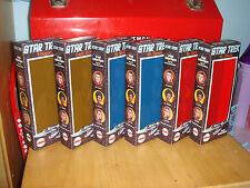 """STAR TREK MEGO 8"""" CUSTOM BOX LOT OF 6 ONLY"""