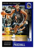 Eric Paschall RC 2019-20 Chronicles SCORE Rookie Card #620 Golden State Warriors