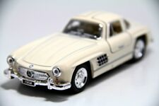 "New 5"" Kinsmart 1954 Mercedes Benz 300 SL Coupe Diecast Model Toy 1:36 Cream"