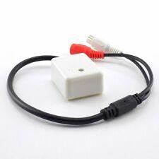 Mini Audio CCTV Microphone Surveillance Sound Monitor For Security Camera