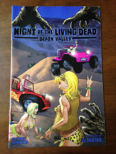 NIGHT OF THE LIVING DEAD DEATH VALLEY # 1 NM WRAP COVER MIKE WOLFER AVATAR