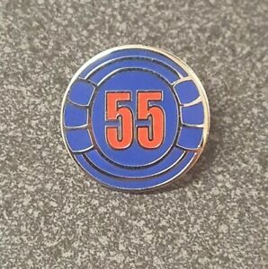 RANGERS / LINFIELD 55 LAPEL BADGE