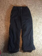 Quicksilver Kids Small Black Ski/Snow Pants Kd1