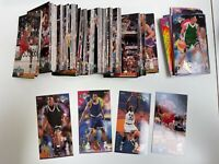 1993-94 NBA Jam Session Complete Card Set (240) Plus 4 - 8 Card Inserts Sets