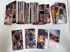 1993-94 NBA Jam Session Complete Card Set (1-240) -- Michael Jordan, Shaq, Penny