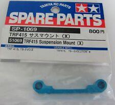 Tamiya 51069 - TRF415 TA05 Querlenkeraufhängung 1 X Aluminium blau
