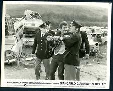 I Did It '73 GIANCARLO GIANNINI POLICEMEN WRECKERS YARD