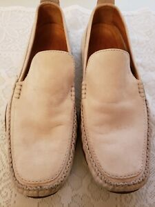 Timberland Cornette driving Loafers Leather Cream/Tan 97527 Men's Size 9M
