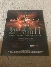 2004 BATTLE AT THE BELLAGIO II K-1 Poster Print Ad DEWEY COOPER MICHAEL MCDONALD