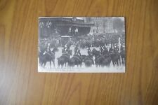 CARTOLINA RE E REGINA D' ITALIA A PARIGI OTTOBRE 1903 VIAGGIATA SUBALPINA AA