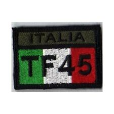 [Patch] BANDIERA ITALIA TF 45 Task Force -  cm 6,5x4,5 toppa -404