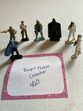 New listing Star Wars Micro Collection Bespin Freeze chamber 7 Figures Lot W/ Boba Fett 1982