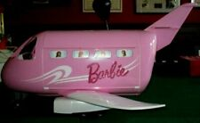 Mattel Barbie Pink Passport Glamour Vacation Jet Airplane With Accessories 1999