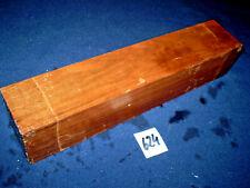 Nussbaum Kantel drechseln schreinern schnitzen  275 x 55 x 55 mm   Nr.624
