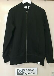 Women's Adidas Original XBYO Track Top Bomber Jacket Black Size S (UK 8) BK2306