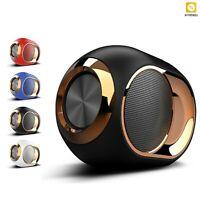 Bluetooth 5.0 Mini Speaker Stereo Sound HIFI Portable Wireless TF Card USB TWS