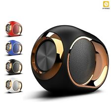 Bluetooth 5.0 Mini Speaker Stereo Sound HIFI Portable Wireless TF Card USB TWS