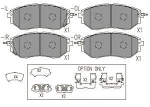 Disc Brake Pad Set-Premium Ceramic Pads Front Dash 4 Brake CFD1078
