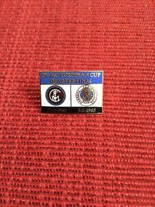 1964/5 European Cup Quarter Final Match Badge, Inter Milan v Rangers