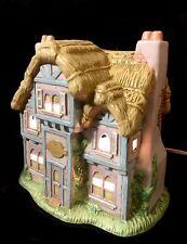 """Vintage """"The Gingerbread Bunny Bakery� Easter Village Cottage- Lefton"""