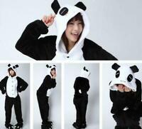 2019 NEW Unisex Adult Pajamas Kigurumi Cosplay Costume Animal Sleepwear Panda+